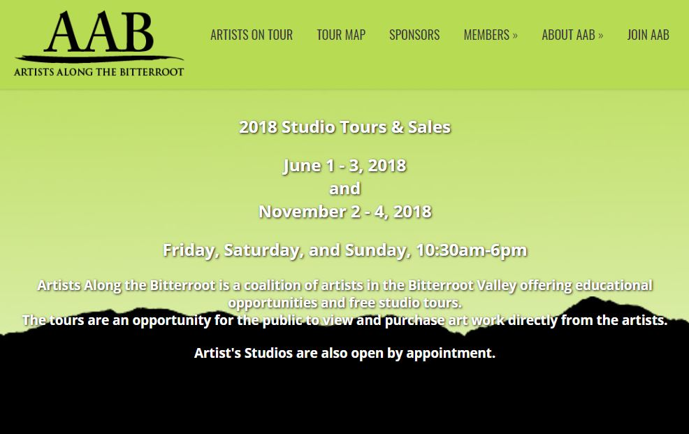 Artists Along the Bitterroot 2018